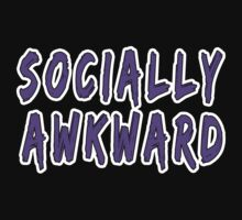 Purple Socially Awkward Kids Clothes