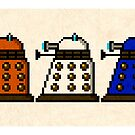 Paradigm Daleks  by StewNor