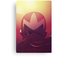 Protoman: A New Challenger Canvas Print