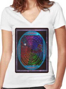 guide Women's Fitted V-Neck T-Shirt
