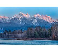 Ragged Ridge Sunset Reflections  Photographic Print