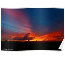 HDR Sun Set Poster