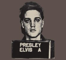 Elvis: Mug Shot by hvalentine