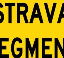 Strava segment Sticker