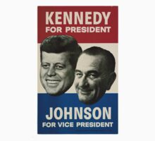 Kennedy and Johnson by hvalentine