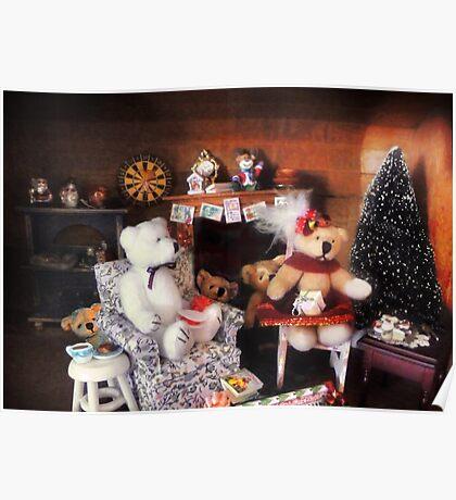Peek-a-boo Bears Poster