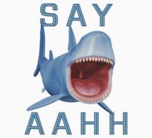 Say Aahh .. a sharks tale One Piece - Short Sleeve
