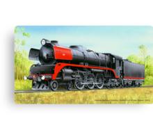 VicRail 4-6-4 R Class Hudson (R701) Canvas Print