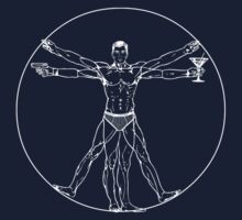 Vitruvian Archer by choda65