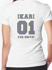 UNIT01 Women's Fitted V-Neck T-Shirt