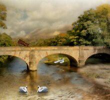 A Pastoral Scene . by Irene  Burdell