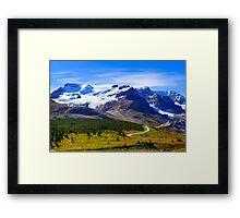 Columbia Icefields, Jasper National Park, Alberta Canada Framed Print
