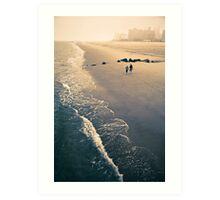 Coney Island Serenity Art Print