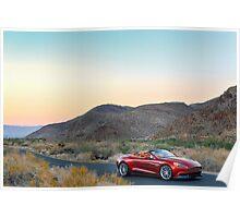 Aston Martin Vanquish Volante ... Poster