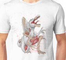 Resurgence of Ancient Lizards - Spinosaurus Unisex T-Shirt
