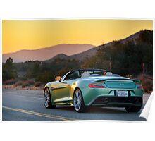The new Aston Martin Vanquish Volante ... Poster