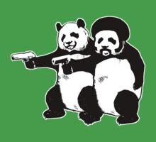 Funny! Pulp Pandas by robotface