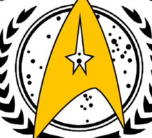 Star Trek - Starfleet Academy - Command Sticker