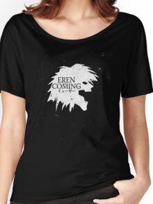 Eren Jaeger is Coming Women's Relaxed Fit T-Shirt