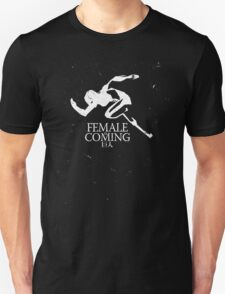 Female Titan is Coming T-Shirt
