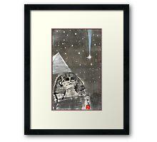 Sphinx and Pyramid II Framed Print