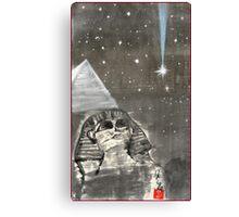 Sphinx and Pyramid II Canvas Print
