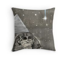 Sphinx and Pyramid II Throw Pillow