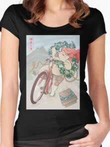 Ride free! Women's Fitted Scoop T-Shirt