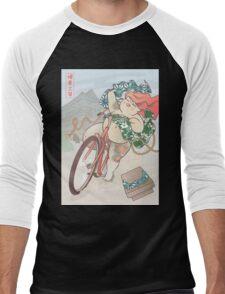 Ride free! Men's Baseball ¾ T-Shirt