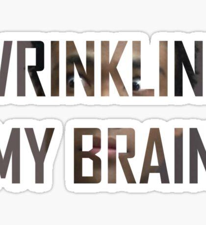 Community - It's wrinkling Troy Sticker