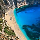 Myrtos beach & Casper the friendly ghost by Hercules Milas