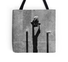 Pedestrian Black and White 4 Tote Bag