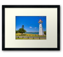 HDR Light House Framed Print