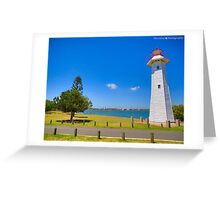 HDR Light House Greeting Card