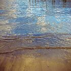 Brighton Beach reflections by Geraldine Lefoe