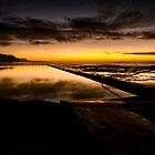 Wombarra  Ocean Pool by Geraldine Lefoe