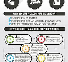 An Infographic about Drop Shipping Vendors by Infographics