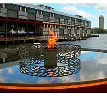 Firey Fish at the Pier Photographic Print