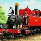 VicRail 2-6-2T   NA-Class Tank Locomotive (9A)  by LocomotiveArt