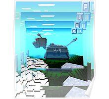 Minecraft K-9 Poster