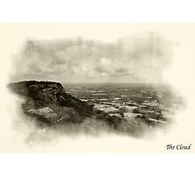 The cloud, bromide Photographic Print