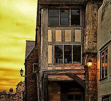 Medieval Alley by fotog