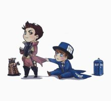 Dr who cant we be friends?  by ikradi