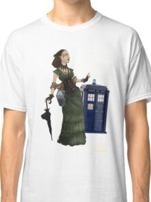 Tardis Hunting Ladies Classic T-Shirt