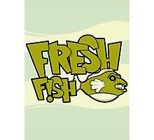 Fresh Fish Photographic Print