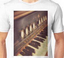 Vintage Organ Keys Unisex T-Shirt