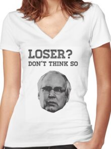 Community - Loser? Don't Think So Women's Fitted V-Neck T-Shirt