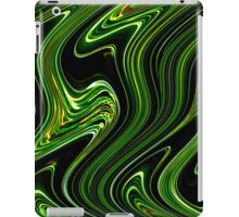 Liquid Green No.2 - Luminosity series iPad Case/Skin