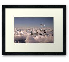 Thunderbolts Framed Print