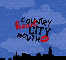 country heart city mouth (two) by Annie Louise